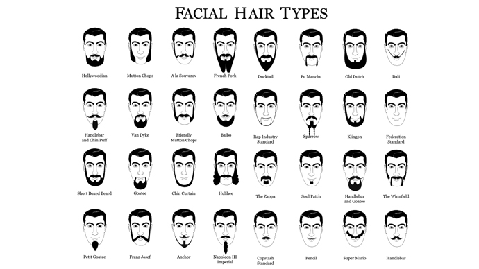 Swell Hair Chatter Name That Facial Hair Hairstyles For Women Draintrainus